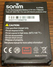 Sonim XP3 Quest XP3.2 Quest XP3.2 Replacement XP-0001100 OEM 1750mAh Battery