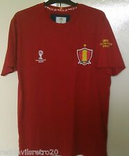 Spain (Official FIFA Brasil World Cup 2014) Football T-Shirt (Adult Small)