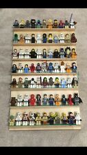 Lego Display Case Shelf Holds 77 Mini Figures Star Wars City Super Hero Batman