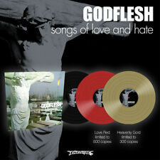 "Godflesh ""Songs Of Love And Hate"" Love Red Vinyl - NEW"