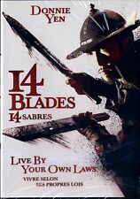 NEW DVD // 14 BLADES // Donnie Yen, Zhao Wei, Wu Chun, Kate Tsui