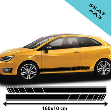 Seat Racing Stripe Stickers For Car Vinyl Decal/Tuning Size 160x10cm