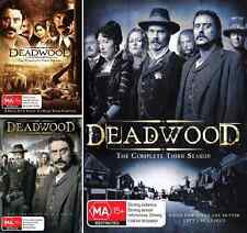Deadwood Series - The Complete Collection Seasons 1,2 & 3 : NEW DVD