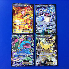 POKEMON CARD CHARIZARD EX XY121 BLASTOISE XY122 VENUSAUR XY123 PIKACHU EX XY124