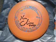 Nice Very Rare 1997 Orange 8X KC PRO EDITION Roc Golf Disc with Reflective Stamp