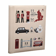 Arpan Self Adhesive Photo Album 20/Sheet London Icons Design Travel AL-9162