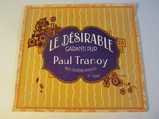 Old Vintage 1940's - French Soap Label - Le Desirable - Paul Tranoy - PARIS