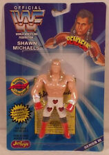 WWF WWE JusToys Bend-Ems Series 3 HBK Shawn Michaels (MOC) Bendies Just Toys