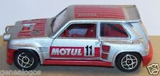 SOLIDO MADE IN PORTUGAL MOTUL RENAULT MAXI 5 TURBO N°11 RALLYE 1986 REF1208 1/43