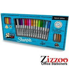 SHARPIE PERMANENT MARKERS SPECIAL EDT PACK - FINE POINT - PACK OF 23 - ASSORTED