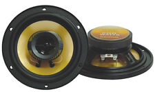 NEW! 2) PYRAMID 652GS 6.5 inch 200 Watt 4 Ohm Two-Way Car Audio Speakers | 652GS