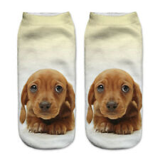 DACKEL dachshund  Socken socks 001 One size - kurz ankle