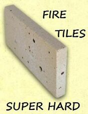 Firebricks tile for wood heater pack x 10 fire bricks combustion - pizza oven
