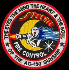 USAF 16th SPECIAL OPERATIONS SQ SOS – SPECTRE AC-130 GUNSHIP-FIRE CONTROL PATCH