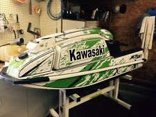 kawasaki 550 sx jet ski wrap graphics pwc stand up jetski decal sticker bottom 7