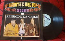 APHRODITE'S CHILD *Gigantes Del Pop* RARE 1988 Spain LP DEMIS ROUSSOS Vangelis