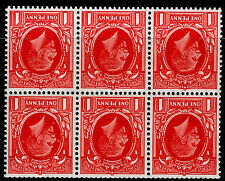 Sg440gw SPEC NB23a, 1d scarlet, M MINT. Cat £95. BOOKLET PANE. WMK INVERTED.