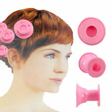 10x Novelty Rubber Roller Curler Hair rizadore Soft pelo DIY Styling Hairdress