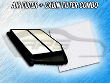 AIR FILTER CABIN FILTER COMBO FOR 2013 2014 2015 HONDA ACCORD - 2.4L ONLY