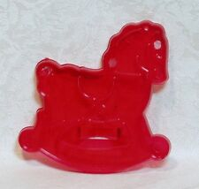 Vintage Design HRM New Red Cookie Cutter - Rocking Horse Christmas Child's Toy