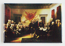 Declaration of Independence FRIDGE MAGNET (2 x 3 inches) john trumbull painting