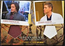 Supernatural Seasons 4-6 DM1 Sam & Dean SSP Dual Wardrobe Costume Trading Card