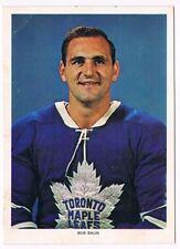 1963-65 Chex Photo Hockey Card Bob Baun