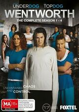 Wentworth the complete Series Season 1, 2 , 3 & 4 DVD Box Set R4 New Sealed