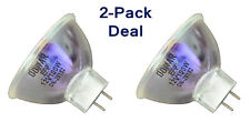 2pcs Bulb for CHINON Twin Track Audio 300 Sound 8 EFOS 3020 OSRAM 64627 EFR Lamp