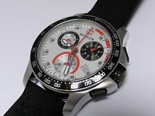 Wenger 70791 Battalion field chronograph men's watch, rubber strap, Swiss, NEW