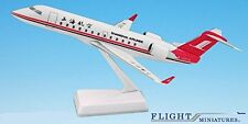 Shanghai Airlines CRJ200 Airplane Miniature Model Metal Die-Cast Scale 1:100 Par