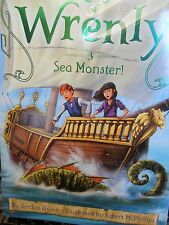 Wrenly 3 pack Lost Stone, Scarlet Dragon & Sea Monster by Quinn new paperbacks