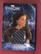 JAIMIE ALEXANDER LADY SIF THOR WORN COSTUME RELIC SWATCH card BLIND SPOT TATTOO