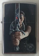 Zippo Windproof Anne Stokes Excalibar Lighter 46825, New In Box