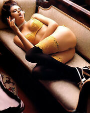 CHARLIZE THERON 8X10 PHOTO PICTURE PIC HOT SEXY LACE BRA AND PANTIES 66