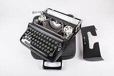 SALE!!! BLACK OLIVETTI PLUMA 22 - vintage portable working manual typewriter