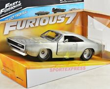 NEW 1/24 JADA 97336 Fast & Furious Dom's Dodge Charger R/T, silver