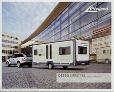 Prospetto Eiffel paese Deseo Lifestyle 2008 Roulotte Caravan opuscolo brochure
