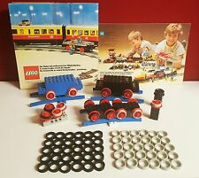 60 x traction tires for LEGO railroad, 30 x gray,30 x black 12v/4,5V, train,