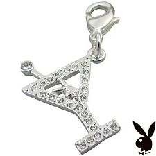 Playboy Charm Bunny Martini Glass Clip On PROM GRADUATION MOTHER'S DAY GIFT RARE