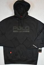 Polo Sport Ralph Lauren Hoodie Performance Hooded Sweatshirt BLACK XL  NWT
