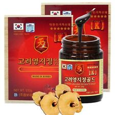 Korean Lingzhi Reishi Mushroom Ganoderma Lucidum Extract Gold 200g (100g x 2 ea)