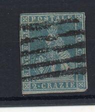 ANTICHI STATI 1851 TOSCANA FRANCOBOLLO DA 2 CRAZIE D 07460