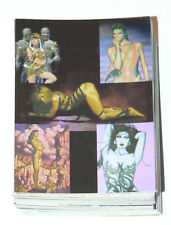 The New American Pinup Omnichrome 72 card base set Comic Images in 1997.
