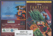 FANTASIA 2000 DISNEY DVD - SPECIAL EDITION - BRAND NEW SEALED - UK RELEASE