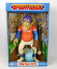 NOS Vintage HG Sportfreaks PINETAR PETE Huge Baseball Action Figure Toy NEW 1986