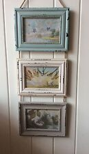 Shabby ChicTriple Rectangle Hanging Photo Frame Delilah Range by Sass & Belle