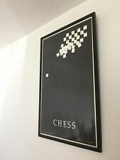 Rare Vintage Original Theatre Poster Chess Printed By Dewynters