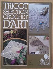 catalogue ancien Tricot sélection crochet d'art n° 54 - 1982