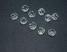 10 Pz Sfera Pallina Perlina Con Foro Passante 3588-12 mm Cristallo 30% PbO